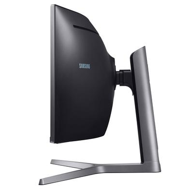 Monitor Gamer Samsung QLED 49´ Super Ultra Ampla Curvo, Full HD, HDMI/Display Port, FreeSync, 144Hz, 1ms, Altura Ajustável - LC49HG90DMLXZD