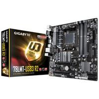 Placa-Mãe GIGABYTE p/ AMD AM3+ mATX GA-78LMT-USB3 R2, DDR3, HDMI, DVI, D-sub, USB 3.1