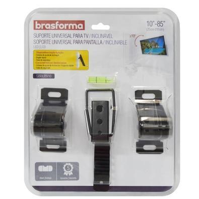 """Suporte Brasforma Universal Inclinável para TV LED e LCD de 10"""" a 85""""  SBRUB910"""