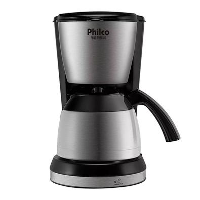 Cafeteira Philco Ph30 Thermo Aço Escovado/Preto 220V