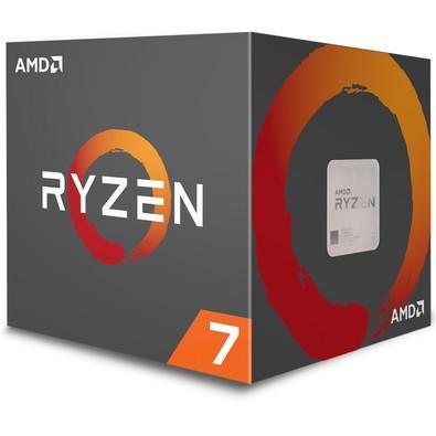 Processador AMD Ryzen 7 2700X, Cooler Wraith Prism, Cache 20MB, 3.7GHz (4.35GHz Max Turbo), AM4, Sem Vídeo - YD270XBGAFBOX