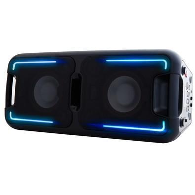 Caixa Acústica Portátil Philco - Bluetooth, MP3, USB, Aux. e FM 200W RMS Bivolt Preto c/ Bateria Interna - PCX5500 056603746