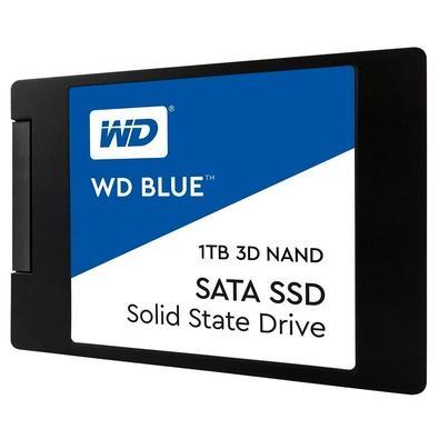 SSD WD Blue 2.5´ 1TB SATA III 6Gb/s Leituras: 560MB/s e Gravações: 530MB/s - WDS100T2B0A