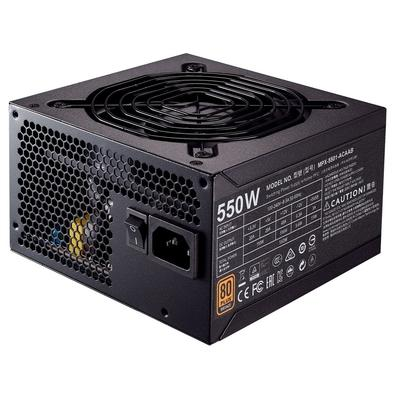 Fonte Cooler Master 550W 80 Plus Bronze MWE - MPX-5501-ACAAB