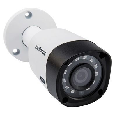 Câmera Bullet Intelbras Infravermelho Multi-HD 720p IR 30M Lente 3.6mm VHD 3130 B G4 4565259