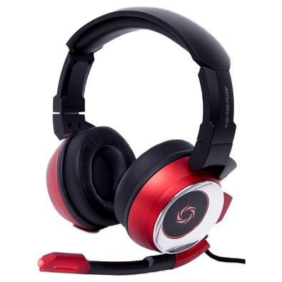 Headset Gamer AverMedia 7.1 Preto e Vermelho SonicWave - GH337