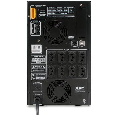 Nobreak APC Smart-UPS BR 2200VA Torre, 110V SMC2200XL-BR