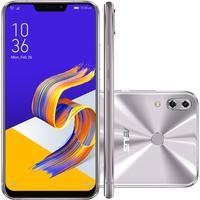 Smartphone Asus Zenfone 5, 128GB, 12MP, Tela 6.2´, Prata - ZE620KL-1H047BR