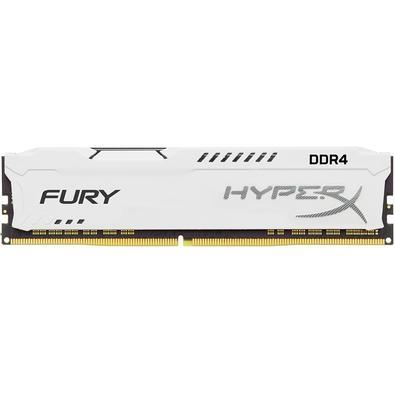 Memória HyperX Fury, 8GB, 3466MHz, DDR4, CL19, Branco - HX434C19FW2/8