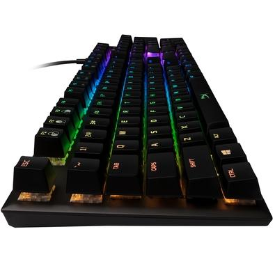 Teclado Mecânico Gamer HyperX Alloy FPS, RGB, Switch Kailh Silver, US - HX-KB1SS2-US