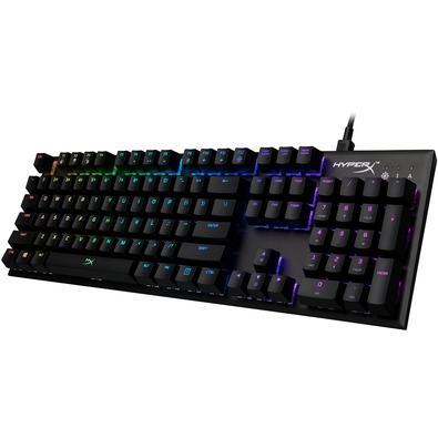 Teclado Mecânico Gamer HyperX Alloy FPS, RGB, Switch Kailh Silver, US - HX-KB1SS2-US