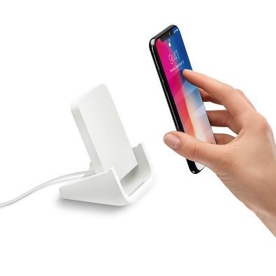 Base de Carregamento Logitech Powered Com Indução Sem Fio Para iPhone e Samsung
