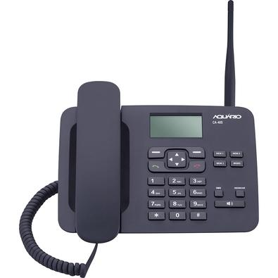 Celular de Mesa Aquário, Quadriband, Wireless, Chip SIM, Preto - CA-40S