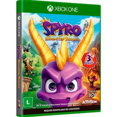 Game Spyro Reignited Trilogy Xbox One