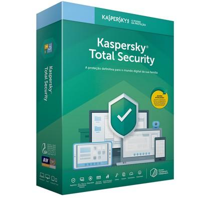 Kaspersky Antivírus Total Security 2019 Multidispositivos 3 PCs