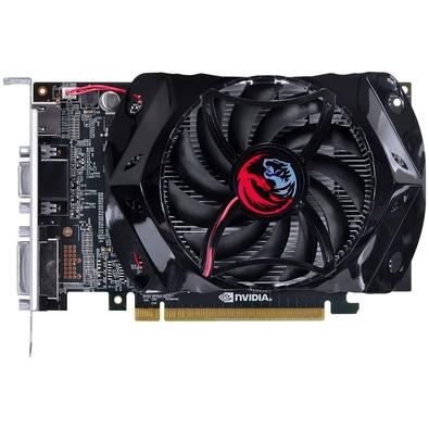 Placa de Vídeo PCYes NVIDIA GeForce GT 730 1GB, GDDR5 - PY730GT12801G5