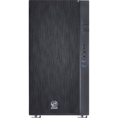 Gabinete Gamer PCYes Jaguar V2 sem Fonte, Mid Tower, USB 3.0, 2 Fans Silenciosos, Preto - JAGV22FSA