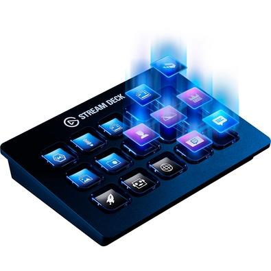 Stream Deck Elgato, USB Integrado, Preto - 10GAA9901