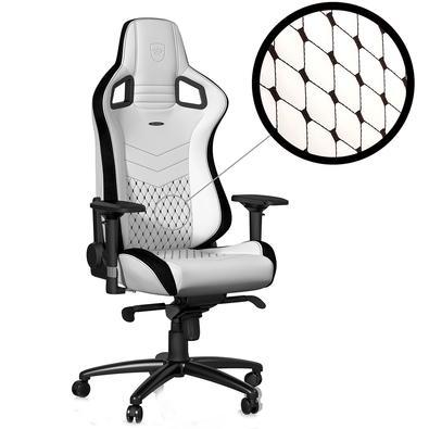 Cadeira Gamer Noblechairs Epic, White - NBL-PU-WHT-001