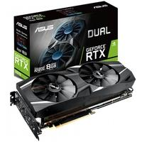 Placa de Vídeo Asus NVIDIA GeForce RTX 2070 Advanced 8GB Dual, GDDR6 - DUAL-RTX2070-A8G