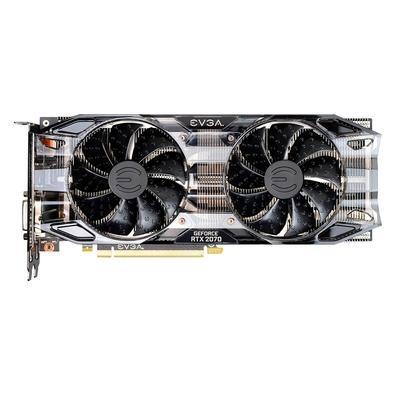 Placa de Vídeo EVGA NVIDIA GeForce RTX 2070 Black Gaming 8GB, GDDR6 - 08G-P4-1071-KR