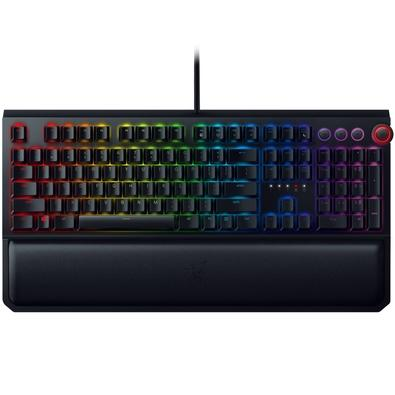 Teclado Mecânico Gamer Razer BlackWidow Elite Chroma, Switch Razer Orange, US