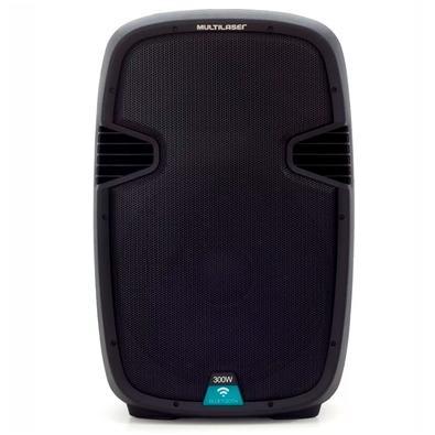 Caixa de Som Amplificadora Multilaser Trolley, Bluetooth, Speaker 15´, 300W - SP220