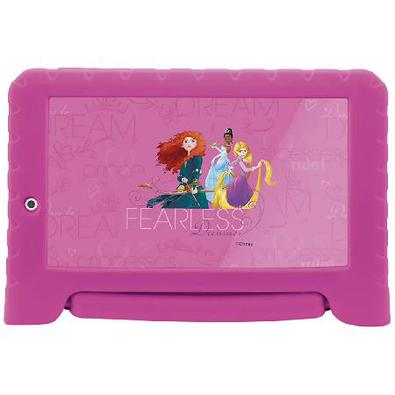 Tablet Disney Princesas Plus, 16Gb, Tela 7