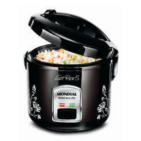 Panela Elétrica De Arroz Fast Rice 5 Premium 5 Xícaras Preta Npe-08-5X 220V