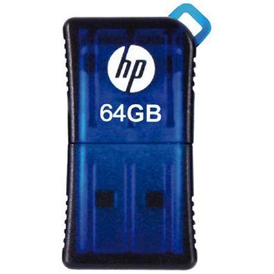 Pen Drive Mini Hp Usb 2.0 V165w 64Gb  Hpfd165w2-64