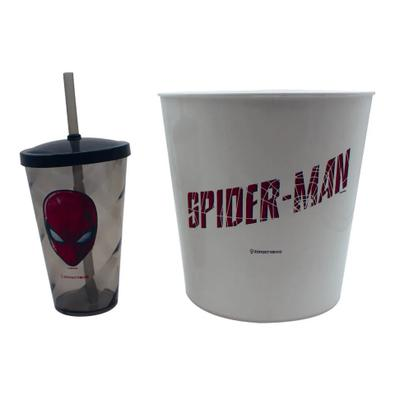 Kit Almofada Pipoca Individual Homem-Aranha Marvel