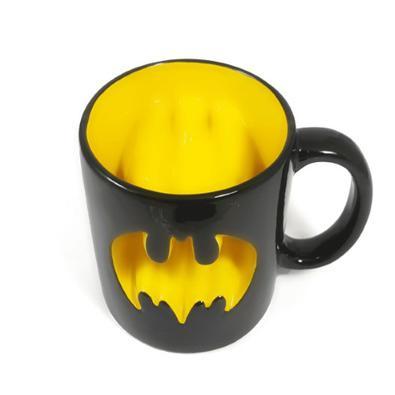Caneca Batman Retrô 3D DC Comics