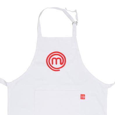 Avental de Algodão MasterChef Branco