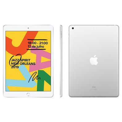 iPad Apple 32GB Wi-fi iOS 11 Tela 10.2´´ Prata MW752BZ/A