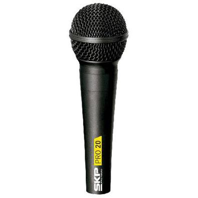 Microfone Com Fio Profissional Acompanha O Cabo De 5 Metros Pro20