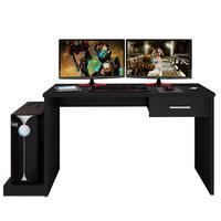 Mesa para Computador Móveis Leão Notebook Desk Game, Preto - DRX 9000