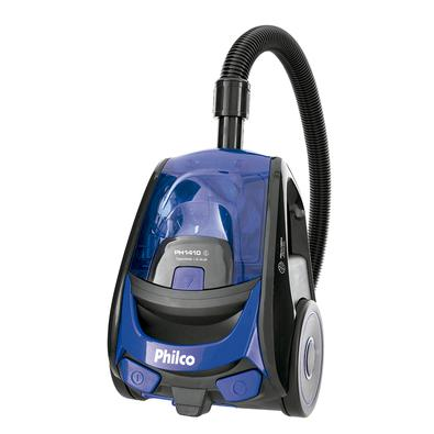 Aspirador de Pó Philco, 1400W, 127V, Azul/Preto - PH1410