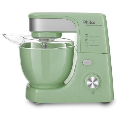 Batedeira Planetária Philco PHP500 Turbo Green 500W 220V