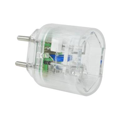 DPS iClamper Pocket, 2 Pinos, 10A, Portátil, Transparente