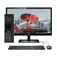 Computador Completo 3green Exclusive Intel Core i3 4GB com SSD 120GB Wifi Dual Band Monitor 19,5´´ HDMI PC CPU