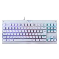 Teclado Mecânico Gamer Redragon Dark Avenger Branco Switch Outemu Blue RGB ABNT2 - K568W-RGB (BLUE)