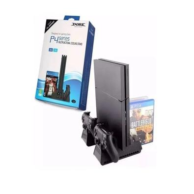 Base Multifuncional c/ Cooler e Carregador p/ Controle PS4 FAT Slim e Pro - Dobe