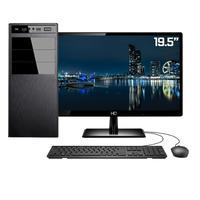 "Computador Completo Intel 7ª Gen, 4GB HD, 500GB, Intel UHD 610, Monitor 19.5"""