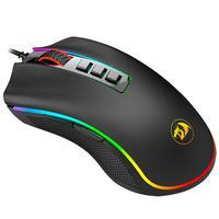 Mouse Gamer Redragon King Cobra Chroma RGB, 24000 DPI, Switch a Laser Sensor Pixart 3360 - M711-FPS