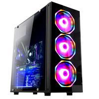 Computador Gamer Fácil com Processador Intel Core i5-9400F (9ª Geração) 4.1GHz, 8GB DDR4, SSD 480GB, Placa de Vídeo AMD Radeon RX 550 4GB, Fonte 500W, Windows 10