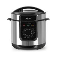 Panela De Pressão Elétrica Eos Multicooker, 5L Inox  220v -Epp50mi