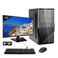Computador ICC Core i3 3.20GHZ, 4GB, HD 240GB SSD, Kit Multimídia, Monitor LED HDMI FULL HD