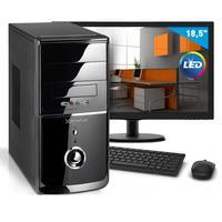 "Kit - Computador Smart Pc 80219 Intel Core I5 (8GB HD 500GB) + Monitor 18,5"""