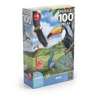 Puzzle 100 peças Aves - Grow