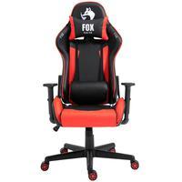 Cadeira Gamer Fox Racer Marble  - Vermelho